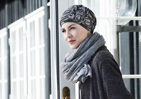 Patterned Headscarf at Inspirations Wigs Bridgend